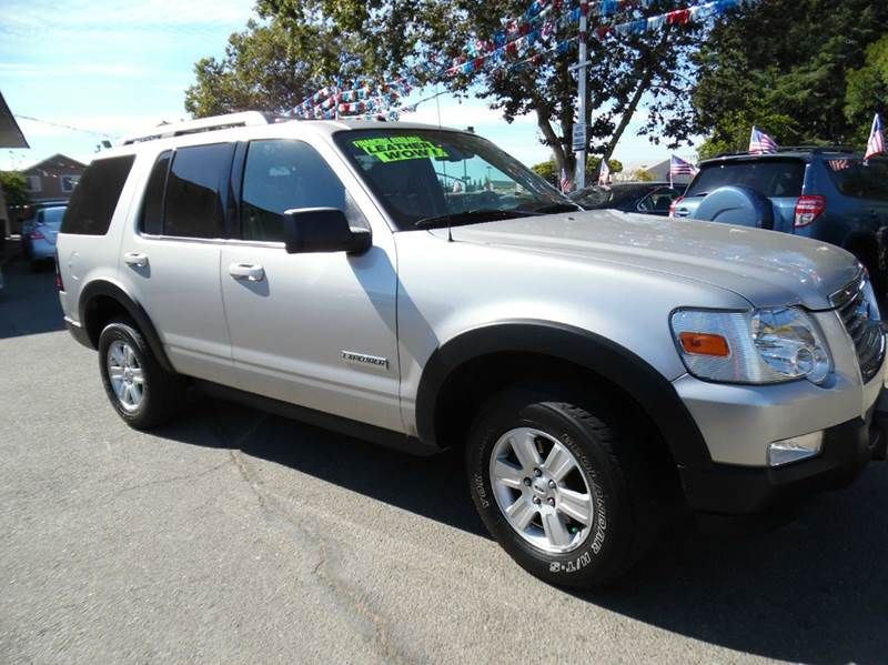 2007 FORD EXPLORER XLT 4DR SUV V6 silver need financing we can help call now  call today  cal