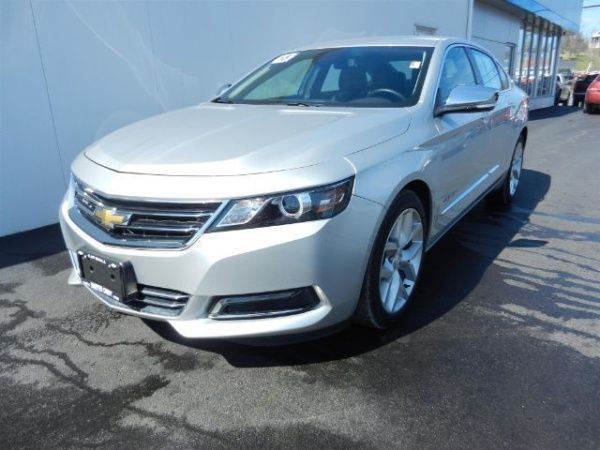 2015 CHEVROLET IMPALA LTZ 4DR SEDAN W1LZ silver need financing we can help call now  call tod