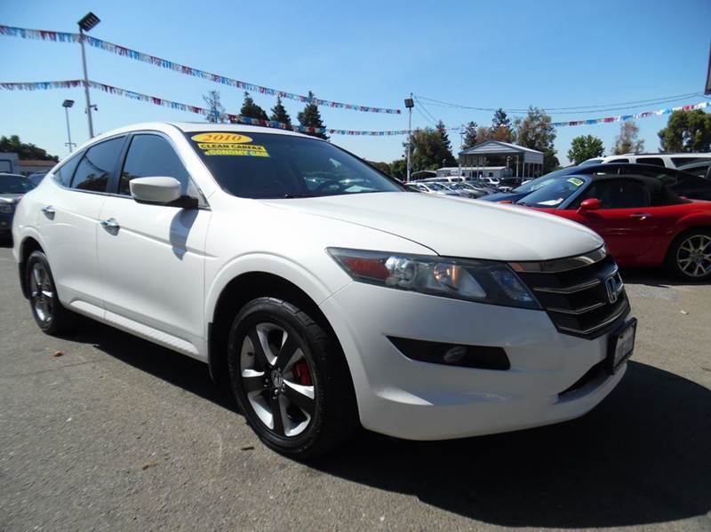 2010 HONDA ACCORD CROSSTOUR EX 4DR CROSSOVER pearl white need financing we can help call now  c
