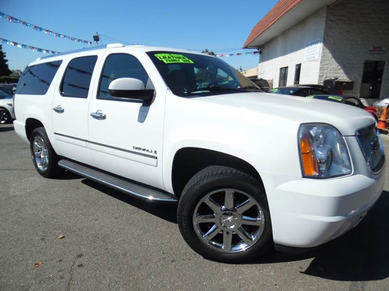 2009 GMC YUKON XL DENALI 4X2 4DR SUV white need financing we can help call now  call today  ca