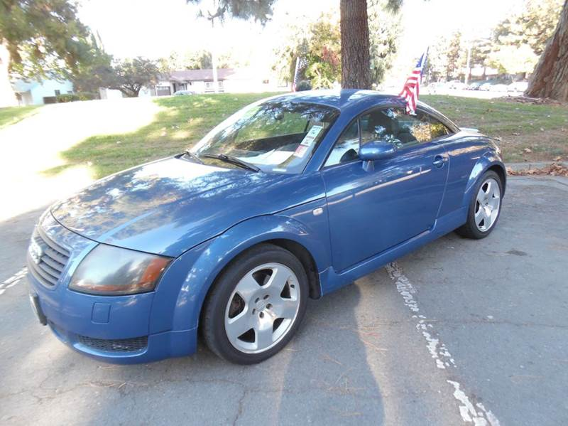 2002 AUDI TT 225HP QUATTRO AWD 2DR HATCHBACK blue need financing we can help call now  call to