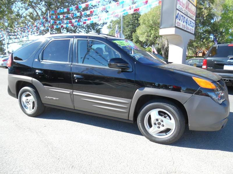 2001 PONTIAC AZTEK BASE FWD 4DR SUV black need financing we can help call now  call today  ca