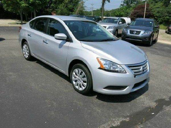 2014 NISSAN SENTRA SV 4DR SEDAN silver need financing we can help call now  call today  call t
