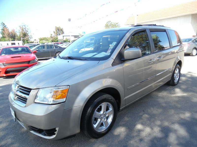 2008 DODGE GRAND CARAVAN SXT EXTENDED MINI VAN 4DR gold need financing we can help call now  c