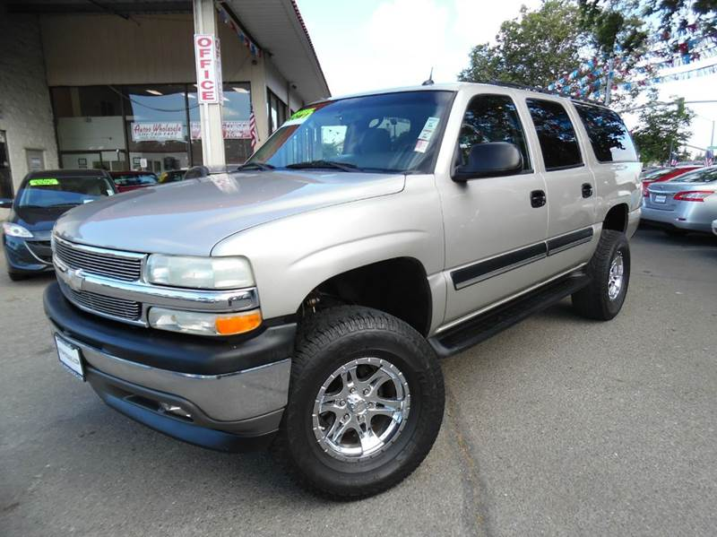 2005 CHEVROLET SUBURBAN 1500 LT 4DR SUV gold need financing we can help call now  call today
