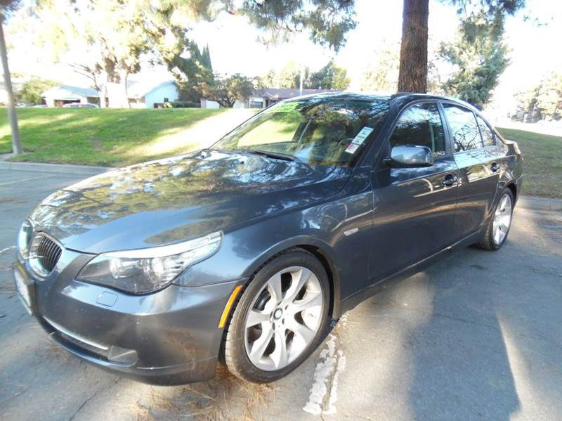 2008 BMW 5 SERIES 535I 4DR SEDAN LUXURY gray need financing we can help call now  call today