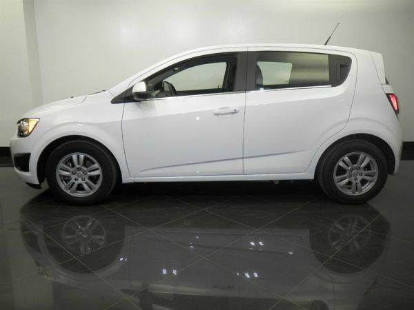 2014 CHEVROLET SONIC LT AUTO 4DR HATCHBACK W1SD white need financing we can help call now  cal
