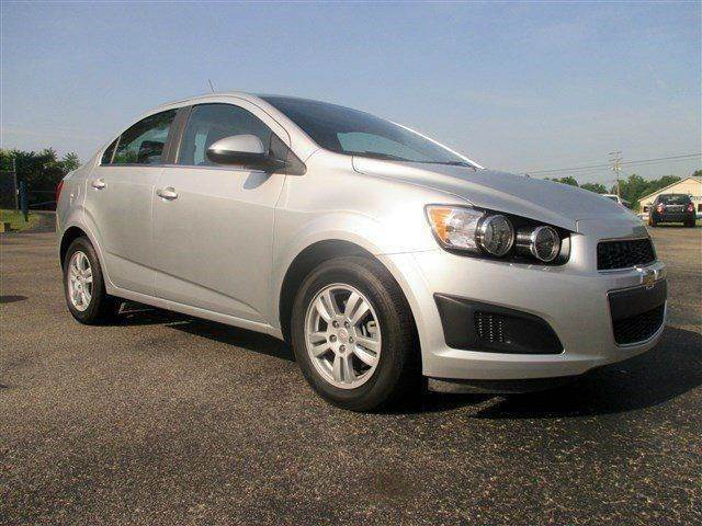 2014 CHEVROLET SONIC LT AUTO 4DR SEDAN silver need financing we can help call now  call today