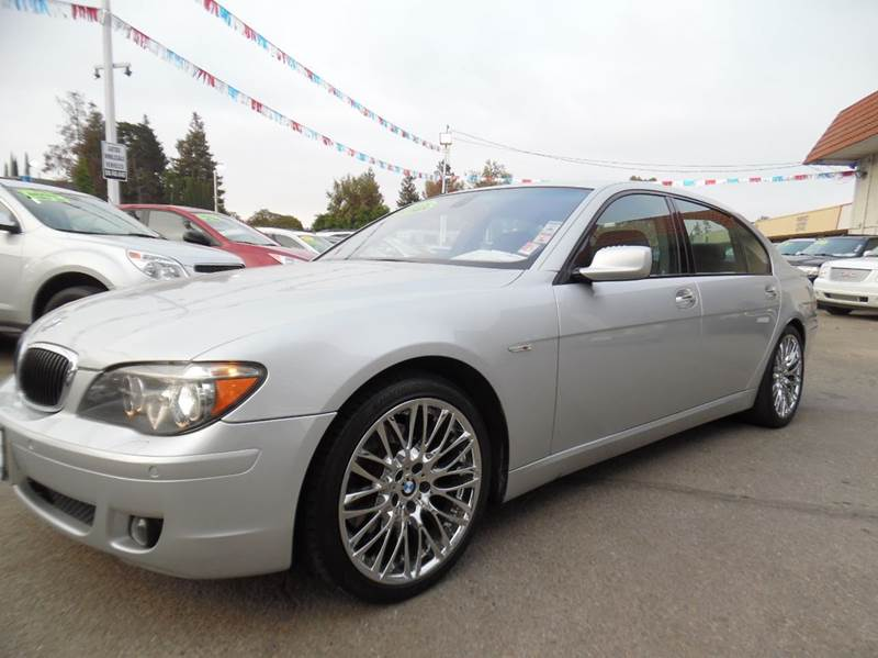 2008 BMW 7 SERIES 750LI 4DR SEDAN silver need financing we can help call now  call today  call