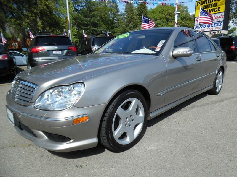 2005 MERCEDES-BENZ S-CLASS S600 4DR SEDAN gray need financing we can help call now  call today