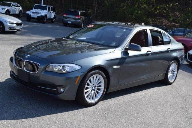 2013 BMW 5 SERIES 535I 4DR SEDAN tasman gray green need financing we can help call now  call t