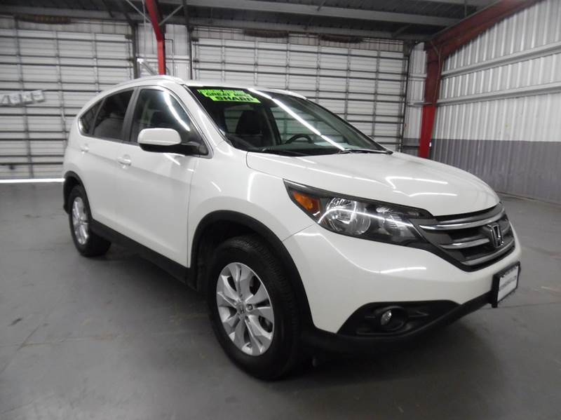 2013 HONDA CR-V EX-L 4DR SUV white need financing we can help call now  call today  call the o