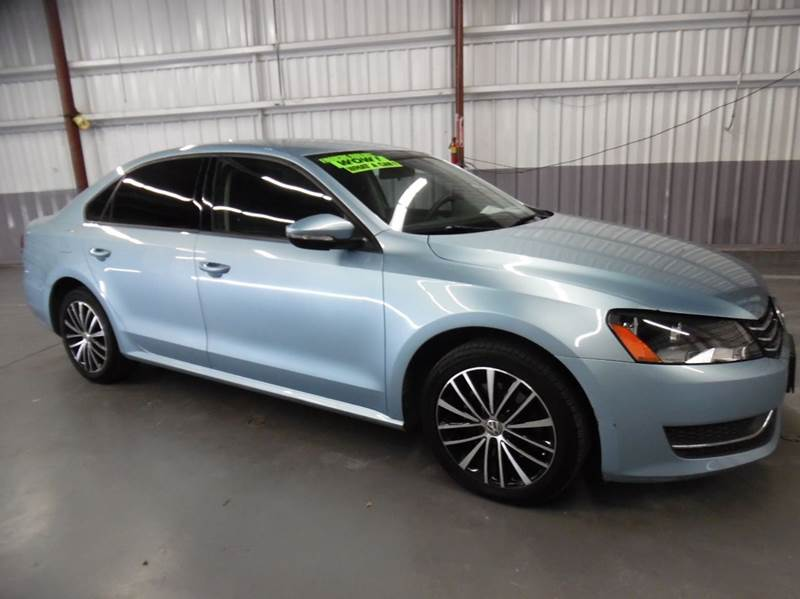 2012 VOLKSWAGEN PASSAT S PZEV 4DR SEDAN 6A W APPEARANC blue need financing we can help call no