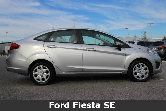 2013 FORD FIESTA SE 4DR SEDAN silver need financing we can help call now  call today  call the