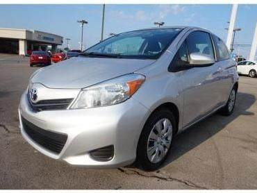2014 TOYOTA YARIS 5-DOOR L 4DR HATCHBACK silver need financing we can help call now  call toda