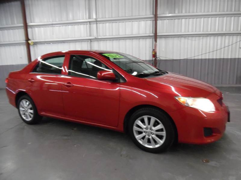 2010 TOYOTA COROLLA LE 4DR SEDAN 4A red need financing we can help call now  call today  call
