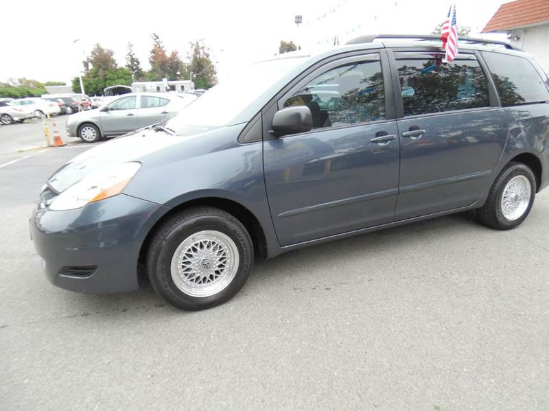 2008 TOYOTA SIENNA CE 7-PASSENGER 4DR MINI VAN blue need financing we can help call now  call