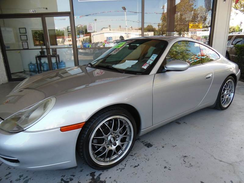 2000 PORSCHE 911 CARRERA 2DR COUPE silver need financing we can help call now  call today  ca