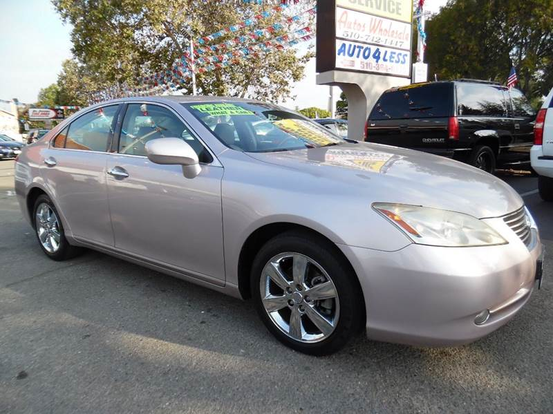 2007 LEXUS ES 350 BASE 4DR SEDAN silver rose need financing we can help call now  call today