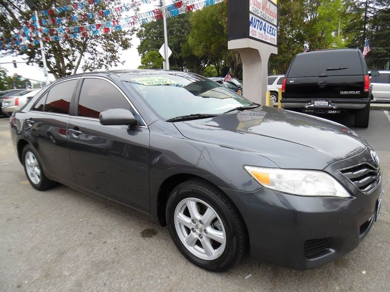 2010 TOYOTA CAMRY LE 4DR SEDAN 6A gray need financing we can help call now  call today  call