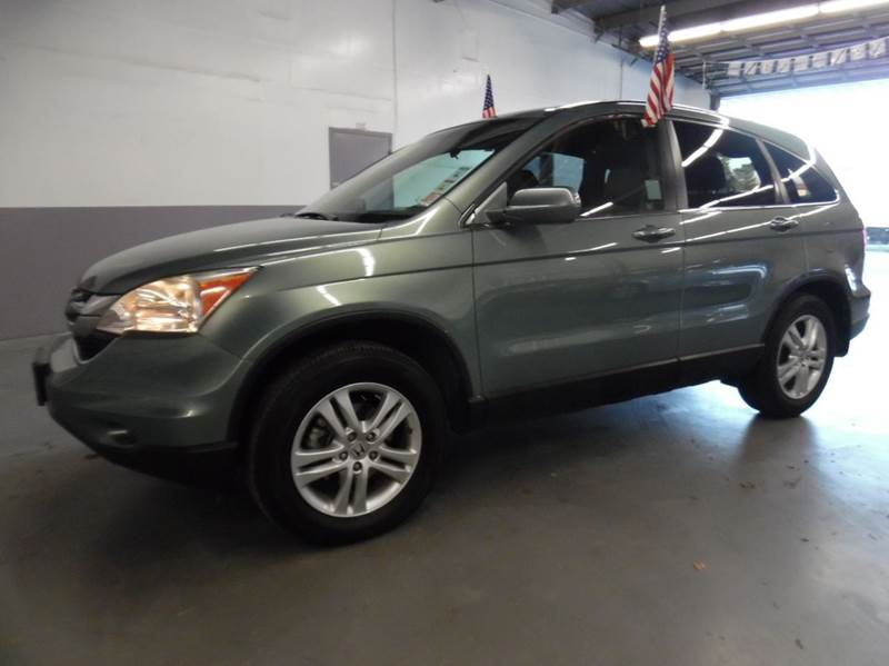 2011 HONDA CR-V EX-L 4DR SUV green need financing we can help call now  call today  call the