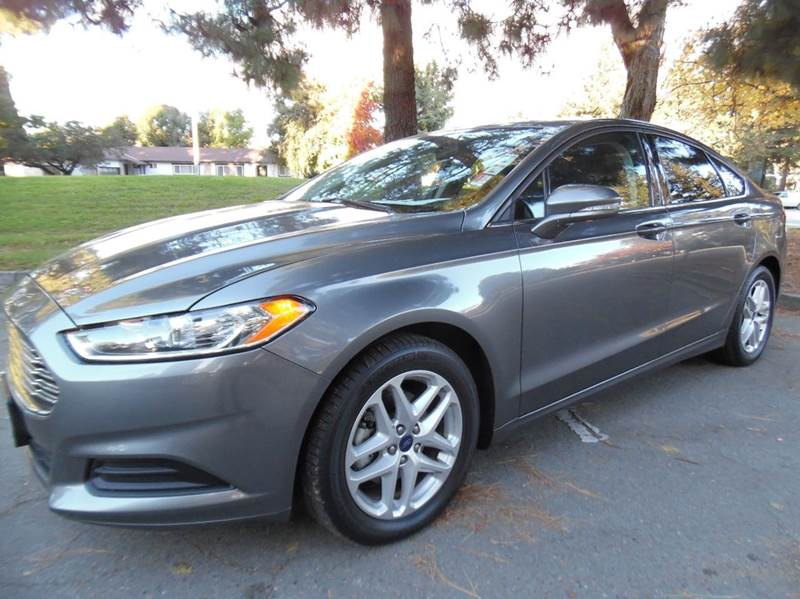 2014 FORD FUSION SE 4DR SEDAN grey need financing we can help call now  call today  call the o