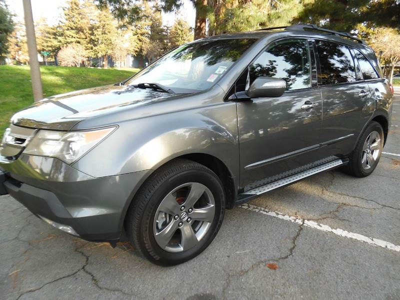 2007 ACURA MDX SH-AWD WSPORT PACKAGE WRES 4DR gray need financing we can help call now  call