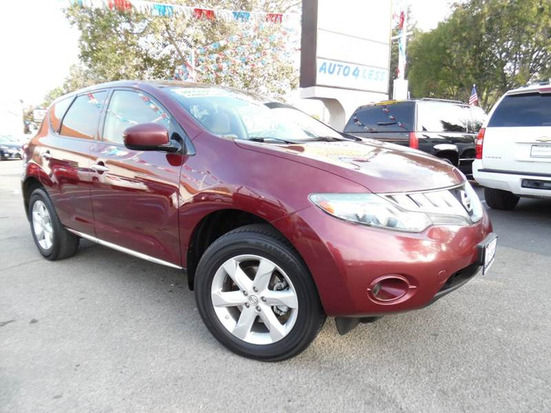 2010 NISSAN MURANO S 4DR SUV red need financing we can help call now  call today  call the of