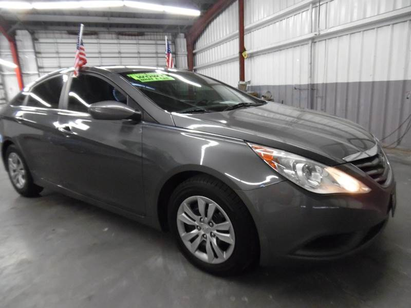 2011 HYUNDAI SONATA GLS 4DR SEDAN gray need financing we can help call now  call today  call t