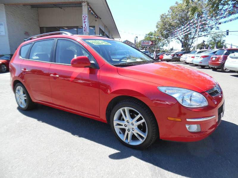 2010 HYUNDAI ELANTRA TOURING GLS 4DR WAGON red need financing we can help call now  call today