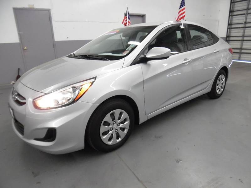 2015 HYUNDAI ACCENT GLS 4DR SEDAN silver need financing we can help call now  call today  call