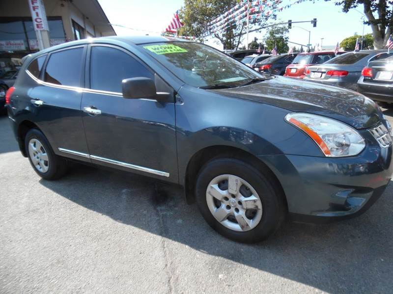 2012 NISSAN ROGUE S 4DR CROSSOVER blue need financing we can help call now  call today  call t