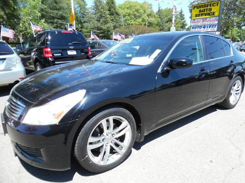 2007 INFINITI G35 SPORT 4DR SEDAN 35L V6 5A black need financing we can help call now  call
