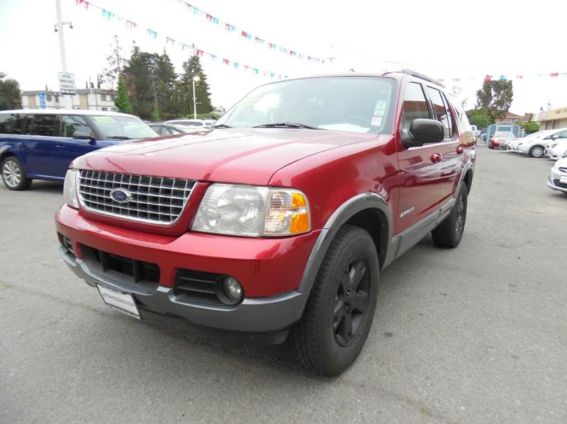 2005 FORD EXPLORER XLT 4DR SUV red need financing we can help call now  call today  call the
