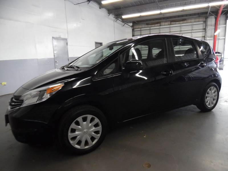 2014 NISSAN VERSA NOTE SV 4DR HATCHBACK black need financing we can help call now  call today
