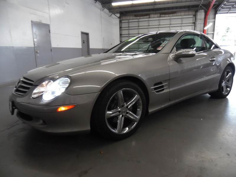 2006 MERCEDES-BENZ SL-CLASS SL500 2DR CONVERTIBLE gray need financing we can help call now  ca