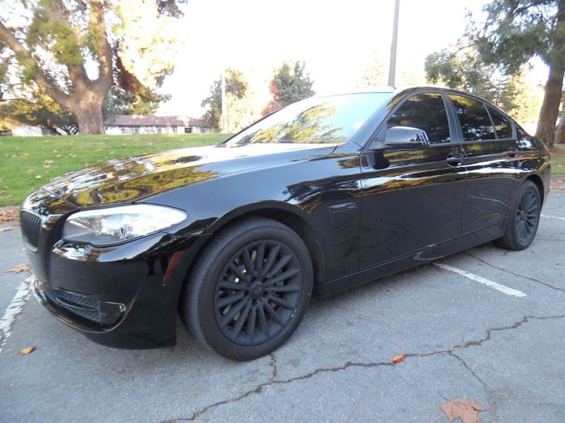 2013 BMW 5 SERIES 535I 4DR SEDAN black need financing we can help call now  call today  call t