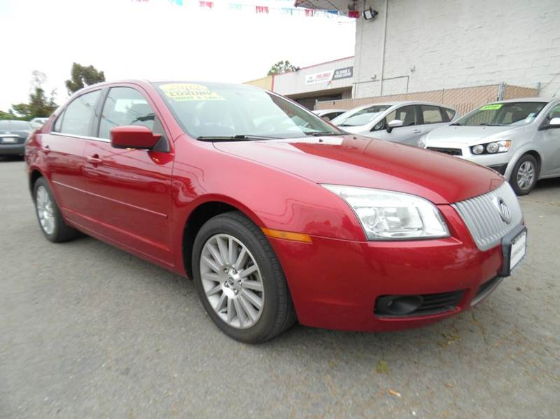 2009 MERCURY MILAN V6 PREMIER 4DR SEDAN red need financing we can help call now  call today