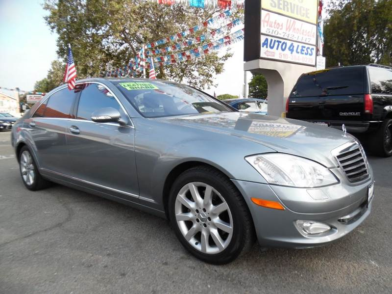 2007 MERCEDES-BENZ S-CLASS S550 4DR SEDAN gray need financing we can help call now  call today