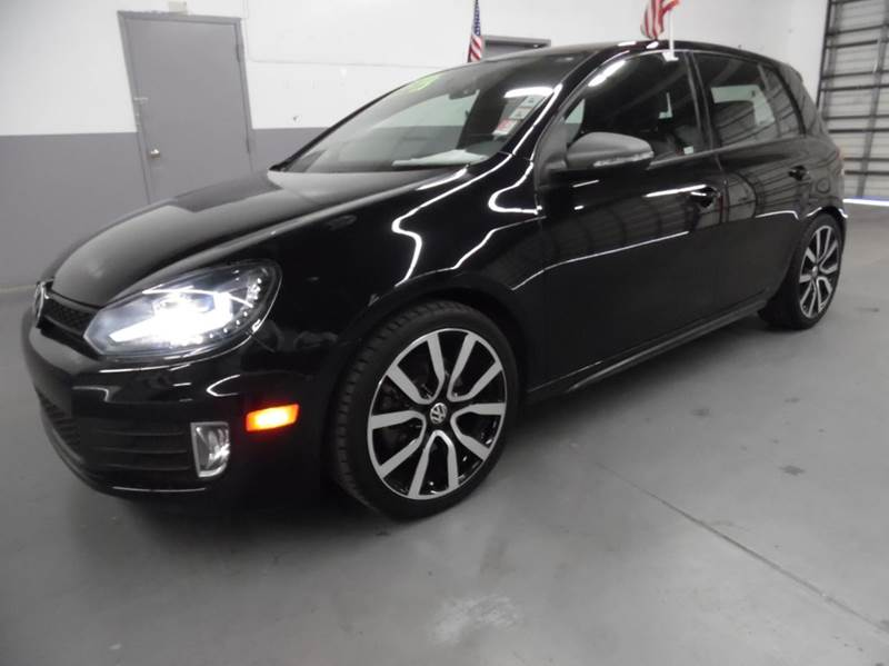 2013 VOLKSWAGEN GTI BASE PZEV 4DR HATCHBACK 6A W AU black need financing we can help call now