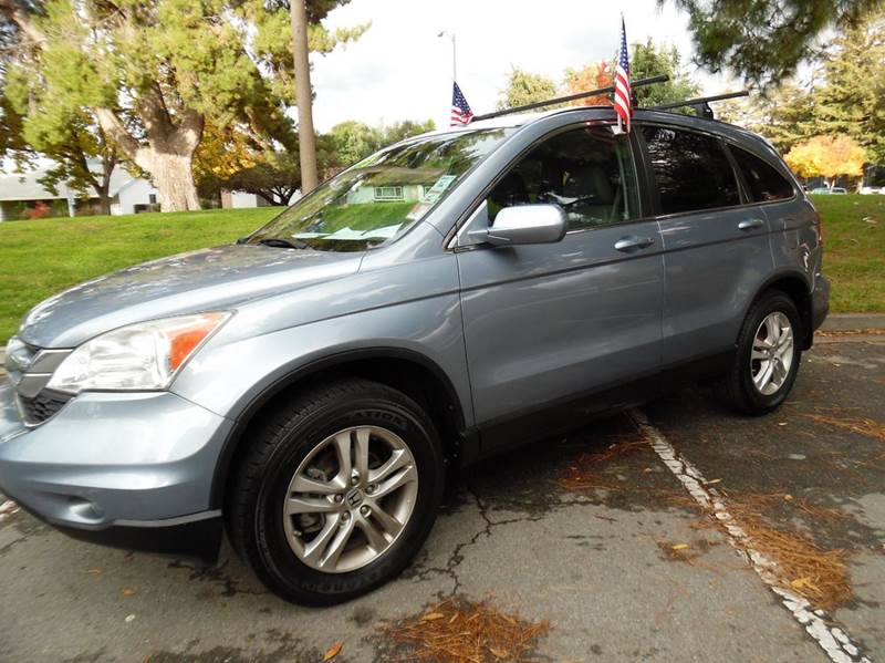 2010 HONDA CR-V EX-L WNAVI AWD 4DR SUV WNAVI light blue need financing we can help call now