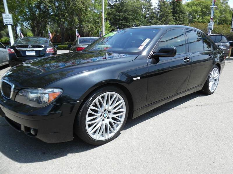 2008 BMW 7 SERIES 750I 4DR SEDAN black need financing we can help call now  call today  call t