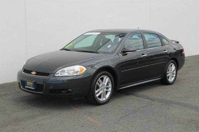 2013 CHEVROLET IMPALA LTZ 4DR SEDAN dark gray certified pre-owned  need financing we can help c