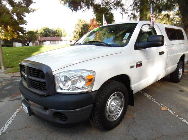2008 DODGE RAM PICKUP 2500 ST 2DR REGULAR CAB LB white need financing we can help call now  ca