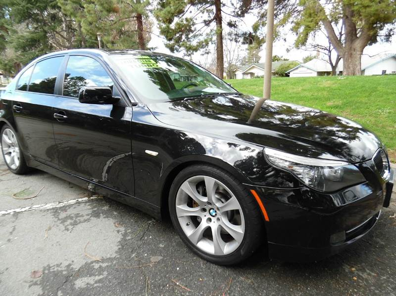 2008 BMW 5 SERIES 535I 4DR SEDAN LUXURY black need financing we can help call now  call today