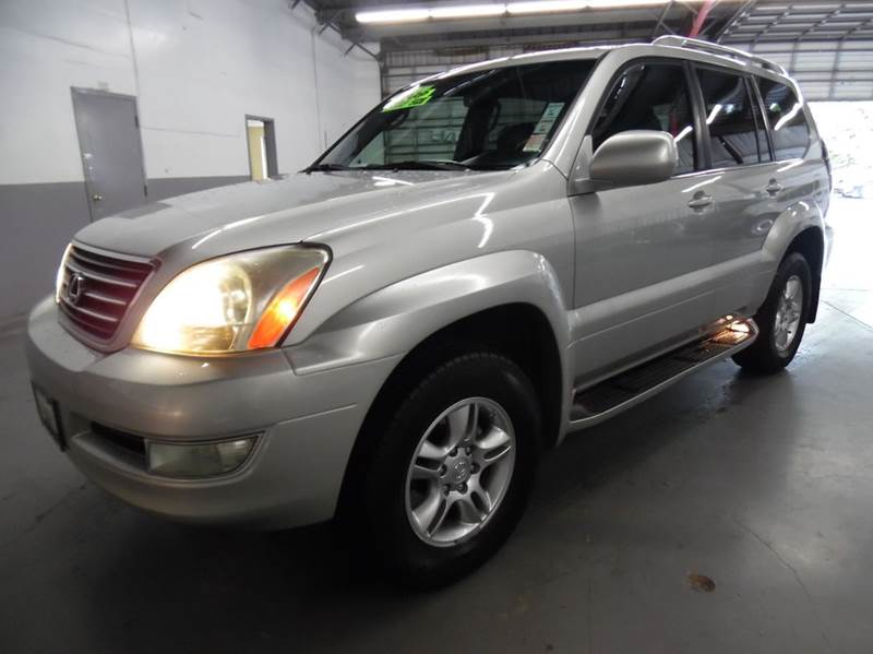 2004 LEXUS GX 470 BASE 4WD 4DR SUV silver need financing we can help call now  call today  ca