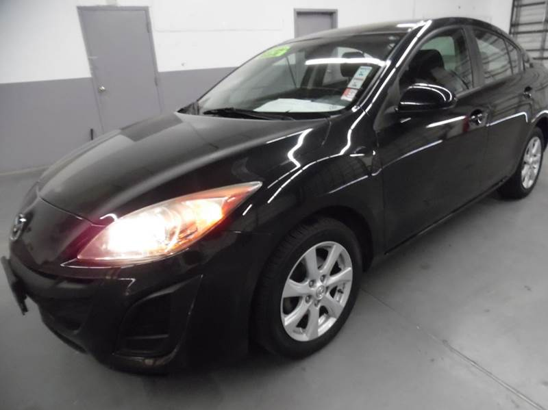 2010 MAZDA MAZDA3 I SPORT 4DR SEDAN 5A black need financing we can help call now  call today
