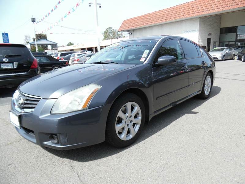2007 NISSAN MAXIMA 35 SL 4DR SEDAN dark gray need financing we can help call now  call today