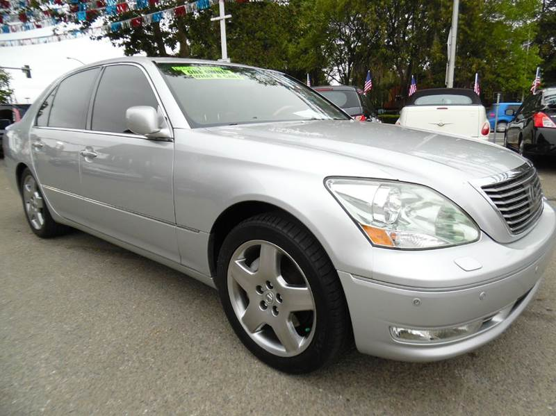 2006 LEXUS LS 430 BASE 4DR SEDAN silver need financing we can help call now  call today  call