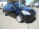 2015 NISSAN VERSA 16 SV 4DR SEDAN black need financing we can help call now  call today  call